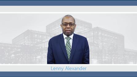 Lenny Alexander se une a J.S. Held